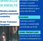 PROSECUZIONE SPORTELLO D'ASCOLTO